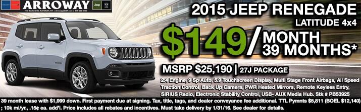 Jeep Lease Deals U0026 Specials
