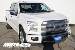 used 2015 Ford F-150 Platinum Truck SuperCrew Cab for sale in Abilene, TX