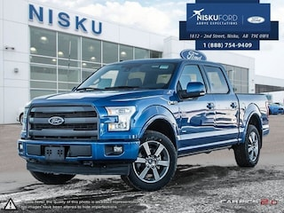 New 2017 Ford F-150 Lariat -  Bluetooth Super Crew in Nisku