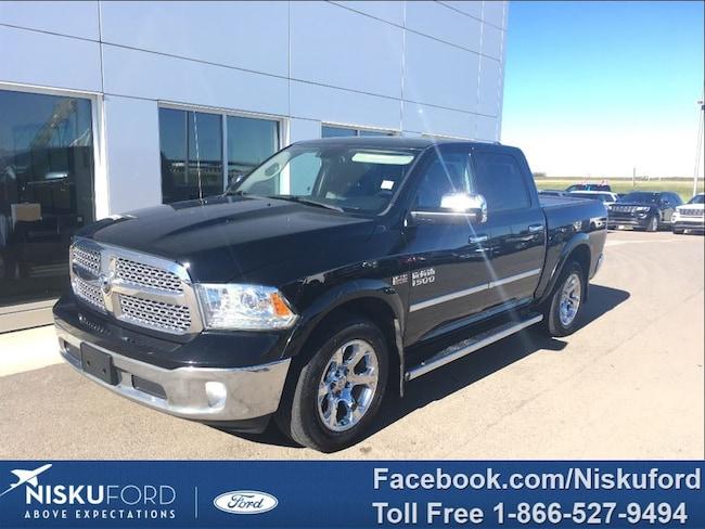 Used 2013 Ram 1500 Laramie LEATHER AND NAV $277.79 b/weekly. Truck  in Nisku