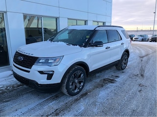 New 2018 Ford Explorer Sport SUV in Nisku