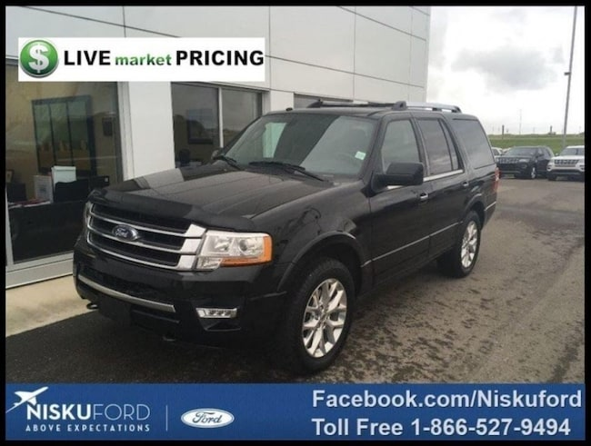 Used 2017 Ford Expedition Limited - Sunroof -  Navigation SUV  in Nisku