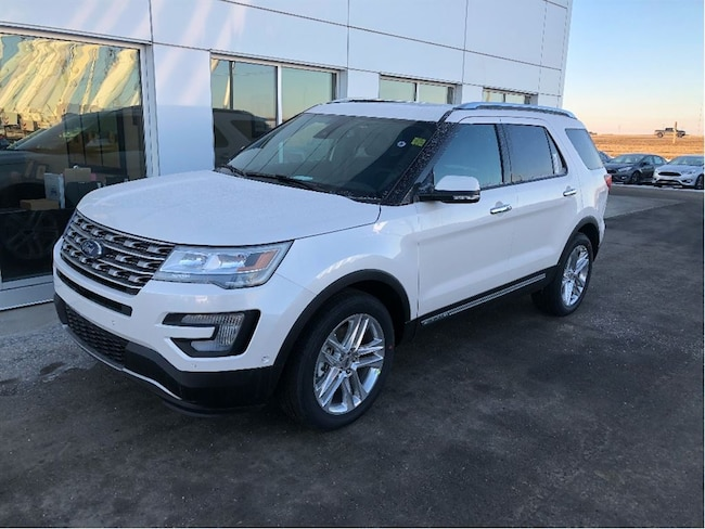 New 2017 Ford Explorer Limited SUV In Nisku and Edmonton Area