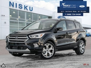 New 2017 Ford Escape Titanium - Leather Seats -  Bluetooth SUV in Nisku