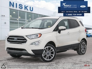 New 2018 Ford EcoSport Titanium - Navigation -  Sunroof SUV in Nisku
