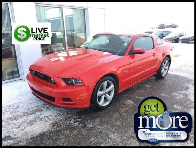 Used 2014 Ford Mustang GT - Leather Seats -  Bluetooth Coupe  in Nisku
