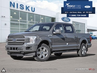 New 2018 Ford F-150 Lariat - Leather Seats Crew Cab in Nisku