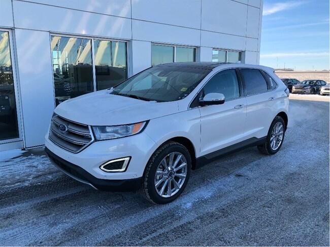 New 2017 Ford Edge Titanium SUV In Nisku and Edmonton Area