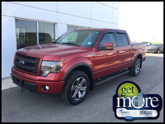 Used 2014 Ford F-150 FX4 Super Crew  in Nisku