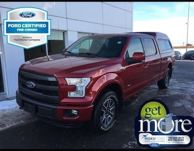 2015 Ford F-150 Lariat 502A One Owner!! - Leather Seats Super Crew