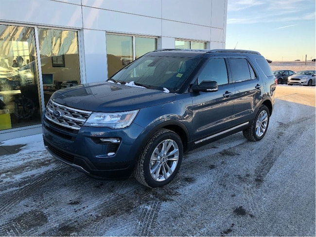 New 2018 Ford Explorer XLT SUV In Nisku and Edmonton Area