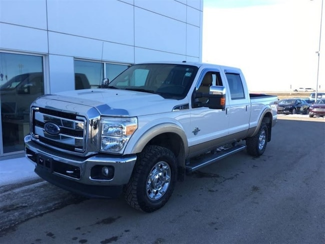 Used 2014 Ford F-350 Super Duty Lariat - Leather Seats Super Crew  in Nisku