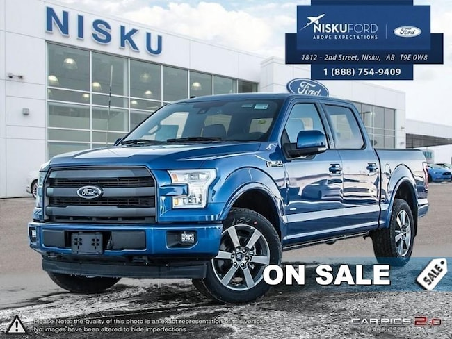 New 2017 Ford F-150 Lariat -  Bluetooth Super Crew In Nisku and Edmonton Area