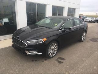 New 2017 Ford Fusion Sedan in Nisku