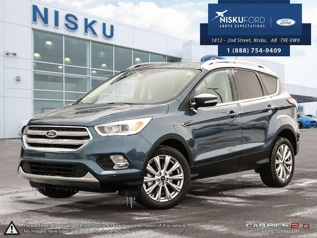 New 2018 Ford Escape Titanium - Leather Seats -  Bluetooth SUV In Nisku and Edmonton Area