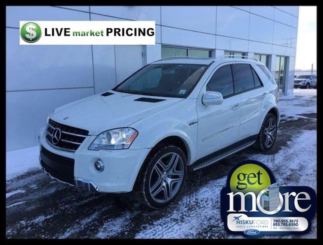 Used 2010 Mercedes-Benz M-Class ML63 AMG 4MATIC SUV  in Nisku