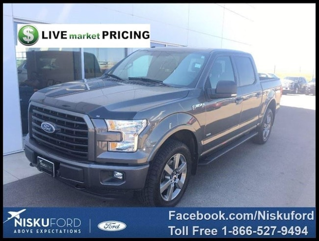 Used 2016 Ford F-150 XLT Truck  in Nisku