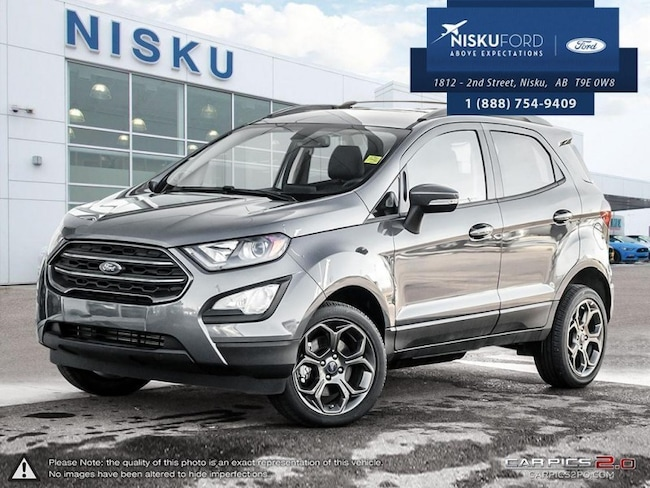 New 2018 Ford EcoSport SES 4WD SUV In Nisku and Edmonton Area