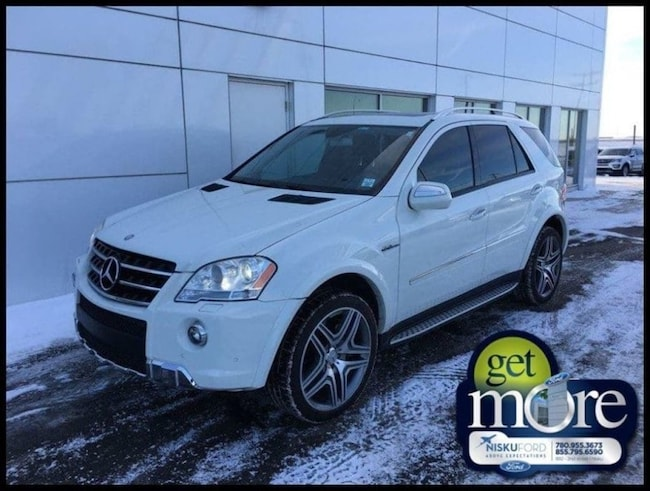 Used 2010 Mercedes Benz M-Class ML63 AMG 4matic SUV  in Nisku