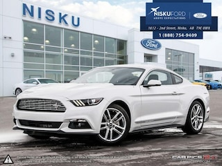New 2017 Ford Mustang Ecoboost - Bluetooth -  Sync Coupe in Nisku