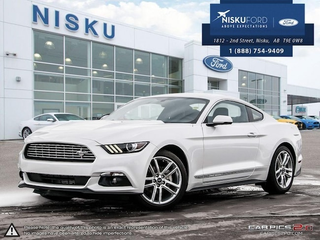 New 2017 Ford Mustang Ecoboost Premium - Navigation Coupe In Nisku and Edmonton Area