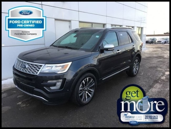 2017 Ford Explorer Platinum - Sunroof -  Sync SUV