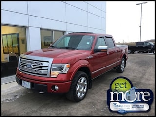2013 Ford F-150 Platinum - Sunroof -  Navigation Super Crew