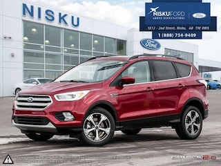 New 2018 Ford Escape SEL SUV in Nisku
