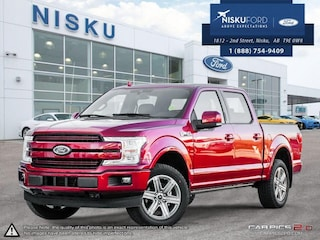 New 2018 Ford F-150 Lariat - Leather Seats - Sunroof Crew Cab in Nisku