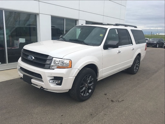New 2017 Ford Expedition MAX Limited SUV In Nisku and Edmonton Area
