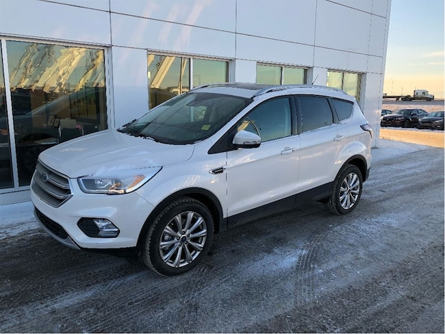 New 2017 Ford Escape Titanium SUV In Nisku and Edmonton Area