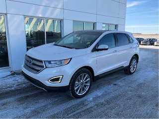 New 2017 Ford Edge Titanium SUV in Nisku