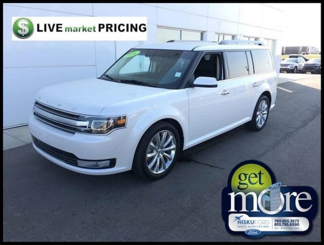 Used 2016 Ford Flex Limited - Leather Seats -  Heated Seats Wagon  in Nisku