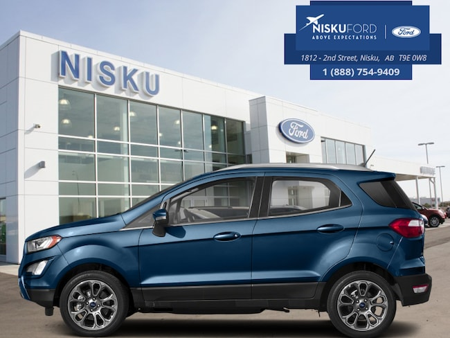 New 2018 Ford EcoSport SES 4WD - Package - Leather Seats SUV In Nisku and Edmonton Area