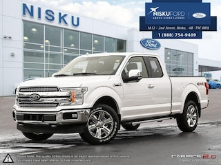 New 2018 Ford F-150 Lariat - Leather Seats -  Cooled Seats Super Cab in Nisku