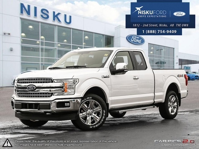 New 2018 Ford F-150 Lariat - Leather Seats -  Cooled Seats Super Cab In Nisku and Edmonton Area