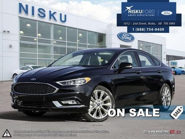 New 2017 Ford Fusion Platinum - Leather Seats Sedan In Nisku and Edmonton Area