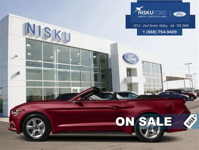 New 2017 Ford Mustang Ecoboost Premium - Leather Seats Convertible In Nisku and Edmonton Area