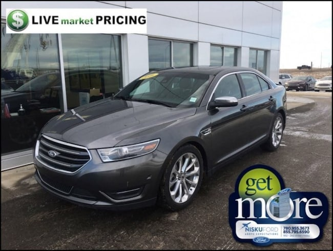 Used 2016 Ford Taurus Limited - Leather Seats -  Bluetooth Sedan  in Nisku