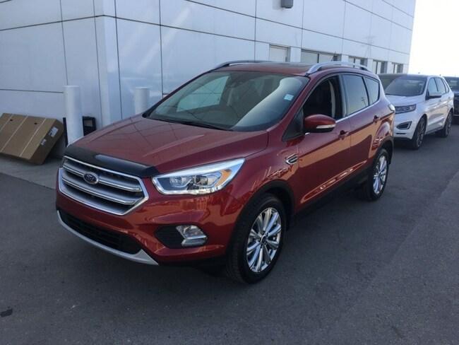 Used 2017 Ford Escape Titanium - Leather Seats -  Bluetooth SUV  in Nisku