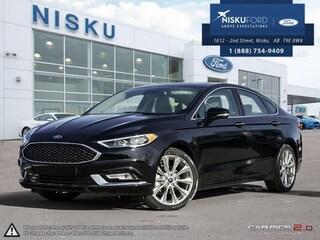New 2017 Ford Fusion Platinum - Leather Seats Sedan in Nisku