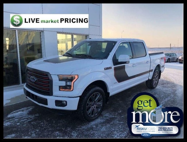 Used 2016 Ford F-150 Lariat Truck  in Nisku