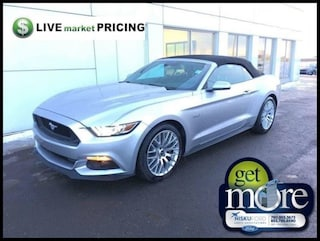 2017 Ford Mustang GT Premium - Leather Seats Convertible