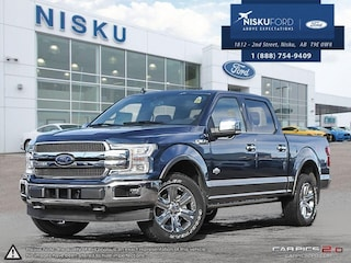 New 2018 Ford F-150 King Ranch - Navigation -  Leather Seats Super Crew in Nisku