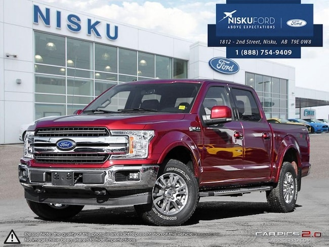 New 2018 Ford F-150 Lariat Super Crew In Nisku and Edmonton Area