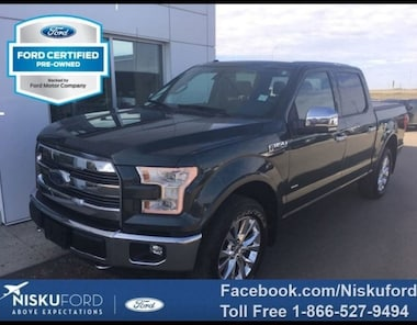 2015 Ford F-150 Lariat - Leather Seats -  Bluetooth Super Crew
