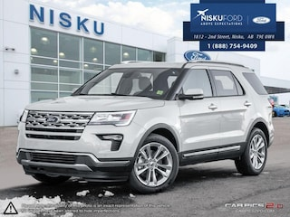 New 2018 Ford Explorer Limited 4WD - Sunroof - Park Assist SUV in Nisku
