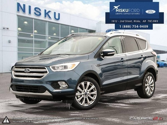 New 2018 Ford Escape Titanium - Package SUV In Nisku and Edmonton Area