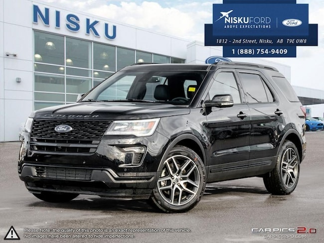 New 2018 Ford Explorer Sport 4WD - Sunroof - Package SUV In Nisku and Edmonton Area