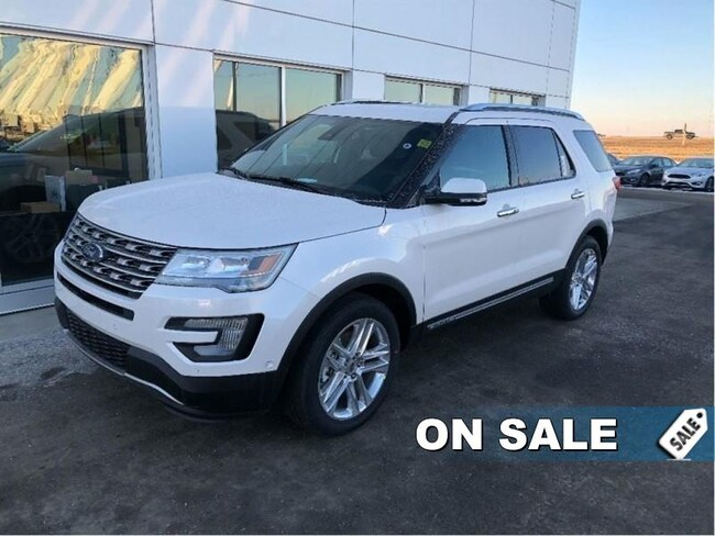 New 2017 Ford Explorer Limited - Navigation -  Cooled Seats SUV In Nisku and Edmonton Area